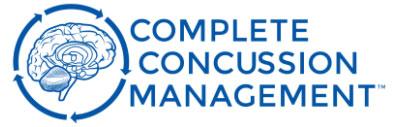 complete concussion management logo